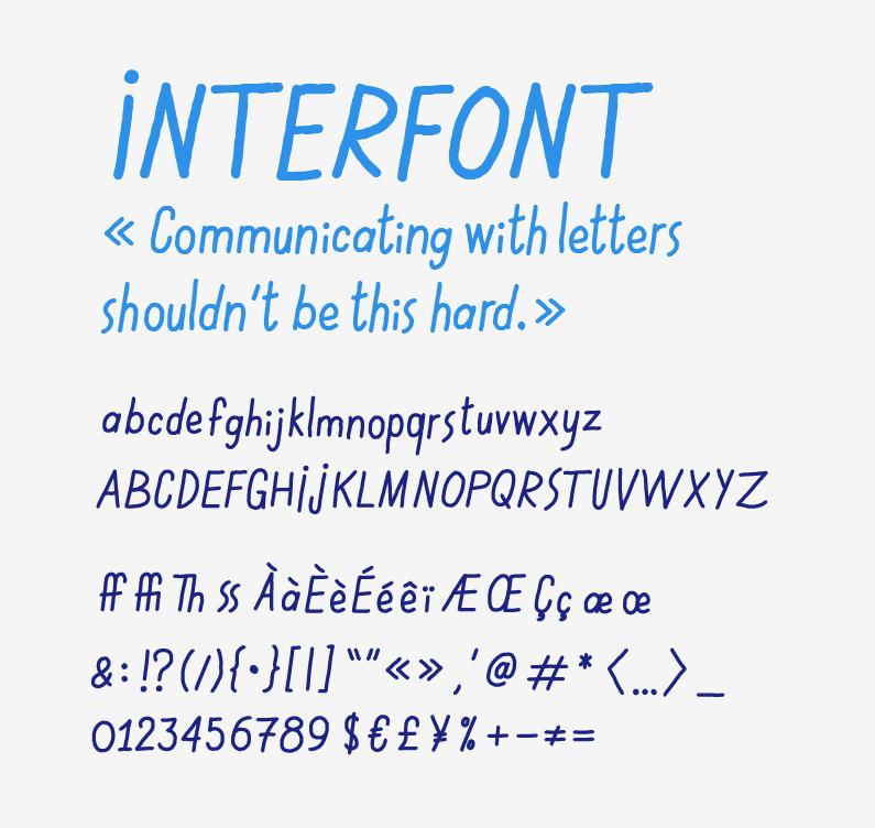 interfont