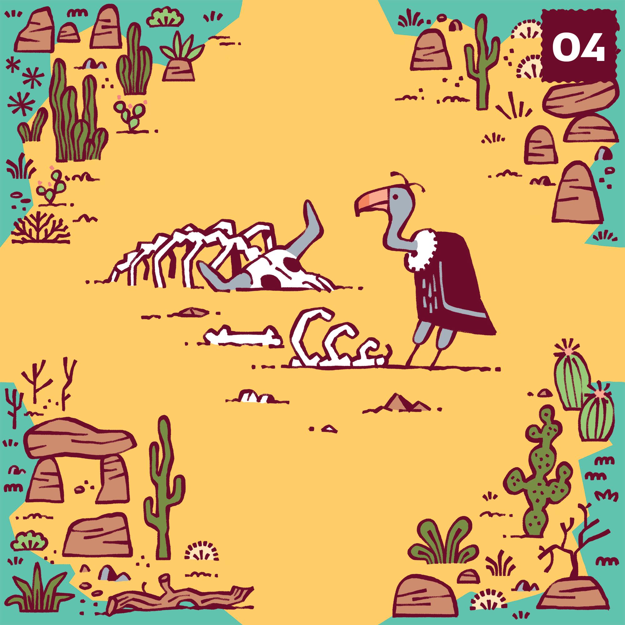 4-vautour